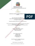 Censo Bibliotecas Dominicanas
