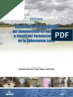Estudio Gobernanza y Saneamiento