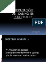 Reparacion de Casing en Pozos Petroleros. Presentacion Final