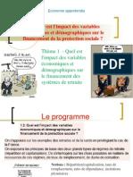 version élève thème Quel est l'impact des variables économiques et démographiques sur le système de retraite  2013 2014