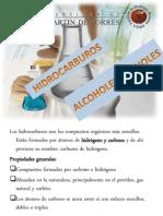 3. Funciones Organicas I HIDROCARBUROS Alcoholes y Fenoles