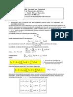 Ecuación de Cantidad de Movimiento(5)