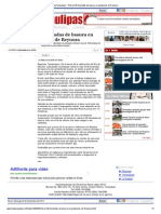 01-11-2013 'Retiran 30 Toneladas de Basura en Panteones de Reynosa'