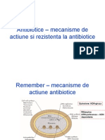 Antibiotice – mecanisme de actiune si rezistenta la.ppt