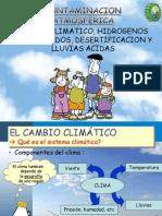 Expo 5 Atmosferica Cambio Climatico, Hidrogenos Halogenados, Desertificacion y Lluvias Acidas