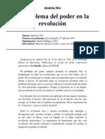 Nin, Andrés _el problema del poder en la revolución_1937