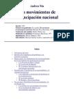 Nin, Andrés_los movimientos de emancipación nacional_1935