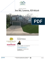 Residential Property Report for 7820 Mullen Road, Lenexa, KS 66216