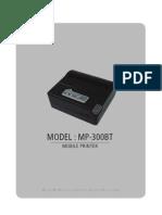 Mp-300bt Manual English