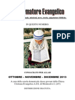 Ottobre, Novembre, Dicembre 2013