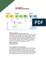 Best Practices Policies and Procedures