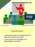 Capacitacion Mandos Medios Rol Del Supervisor