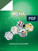 Catalogo ACHA 2011