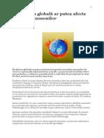 Încălzirea globală ar putea afecta sezonul musonilor.doc