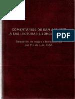 De Luis, Pio - Comentario de San Agustin a Las Lecturas Liturgicas NT
