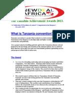 The Tanzania Achievement Awards 2013.