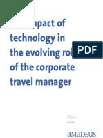 O impacto da tecnologia na evolução do papel do gestor de viagens corporativas