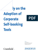 A Study on the Adoption of Corporate Self-booking Tools