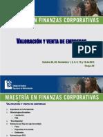 Valoracion y Venta Empresas 2013