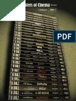 Masters of Cinema Catalogue 2006/7