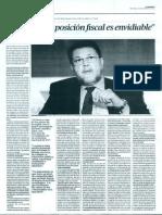 Entrevista a Hasan Tuluy Del Banco Mundial