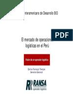 08 Mercado de Operaciones Logisticas Peru