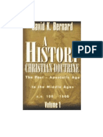 A History of Christian Doctrine, By David K. Bernard