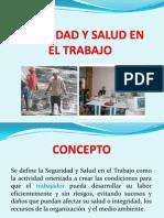 Seguridad y Salud en El Trabajo 2013