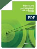 Factores de Ranking 2013