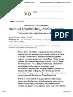 Manuel Leguineche y Javier Reverte   Edición impresa   EL PAÍS