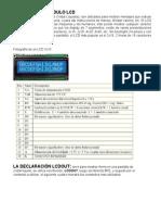 Modulo Lcd 16x2