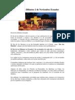 Día de los Difuntos 2 de Noviembre Ecuador 2013