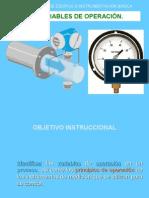 Variables Principales en Ingenieria Quimica