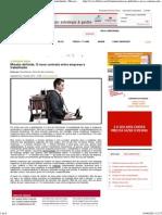 Artigo Novo Contrato Empregador Trabalhador