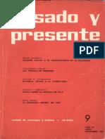 Pasado-y-Presente-primera-epoca-nº-9-1965