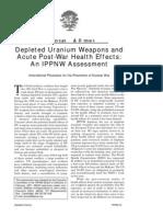 DU weapons & health effects.pdf