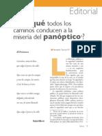 ¿Por qué todos los caminos conducen a la miseria del panoptico - Fernando Carrión