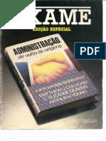 ADMINISTRAÇÃO DE VOLTA AS ORIGENS