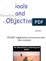 Goals&Objectives