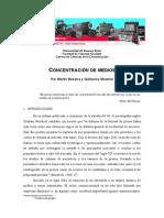 Concentración de medios. monografia revisar y arreglar para presentar}