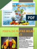 Pulpa de Frutas Milan.2