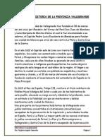 Presentacion - Provincia Vallegrande