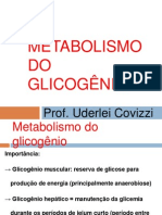Aula 3 - Metabolismo do Glicogênio