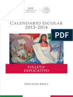 Folleto Explicativo Calendario Escolar 2013-2014 -Jromo05.Com (1)