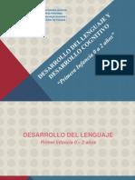 -5&Deg; - I Unidad - Primera Infancia -Desarrollo Lenguaje y Cognitivo