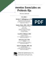 fundamentos esenciales en prótesis fija (shillingburg)