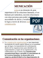COMUNICACIÓN ORGANIZACIONAL (1)