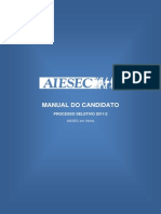 AIESEC Manual Do Candidato