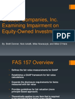 Impairment on Equity