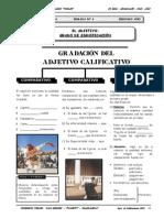 2DO AÑO - LENGUAJE - GUIA Nº4 - ADJETIVO GRADO DE SIGNIFICAC